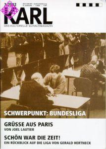 Karl - Die Kulturelle Schachzeitung 2002/3