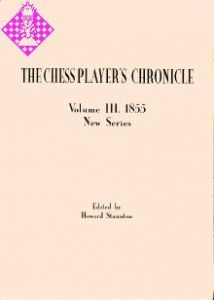 The Chess Player's Chronicle 1855