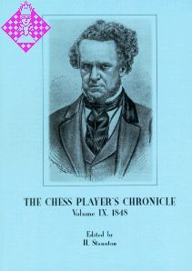 The Chess Player's Chronicle 1849