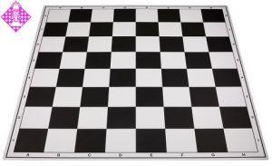 Schachplan, klappbar, schwarz/weiß