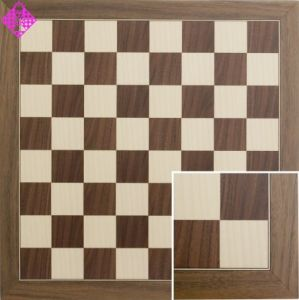 Chessboard Nut/Maple, sq 50 mm