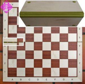 Chessboard no. 5, 48cm, foldable, sq 50 mm