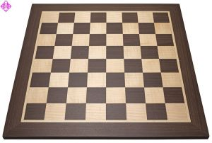 Chessboard wenge/maple, field square 45 mm