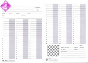 Game sheets 60/120, DIN A5, per 500