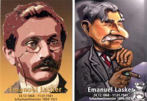 Postkarten Emanuel Lasker