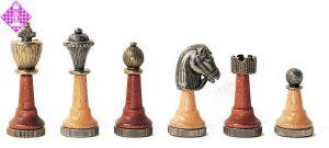 Figuren Holz-Metall