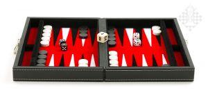 Backgammonkoffer, magnetisch 23 x 16,5 x 5,5cm