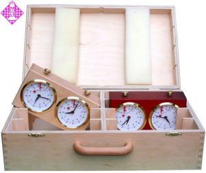 Wooden case for 8 chess clocks MC4047 - 4049
