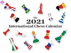 The 2021 International Chess Calendar
