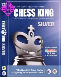 Chess King Silver