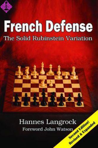 French Defense The Solid Rubinstein Variation Schachversand Niggemann